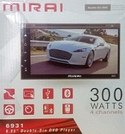 HEAD UNIT TV MOBIL DOUBLE DIN MIRAI-6931 MIRROR LINK
