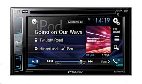HEADUNII DOUBLE DIN PIONEER AVH-195DVD