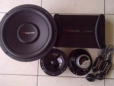 PAKET AUDIO MOBIL by NAKAMICHI