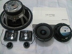 PAKET AUDIO MOBIL SQ BY PCA REFERENCE SERIES