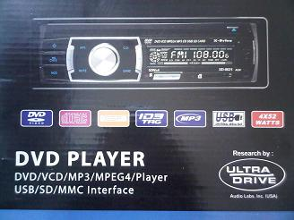single dvd player merk x-drive xd-8021