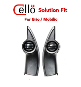 REFITTING TWEETER CELLO SOLUTION FIT OEM HONDA BRIO
