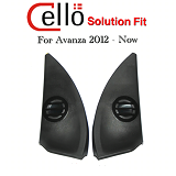 SPEAKER FULLRANGE CELLO SOLUTION FIT OEM TOYOTA NEW AVANZA or DAIHATSU NEW XENIA 2012 - NOW