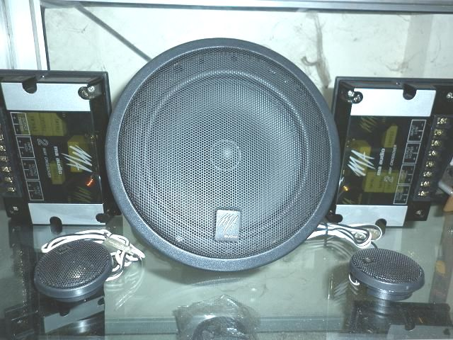 speaker split/component 2 way MA audio Synergy SY65C1