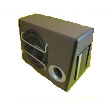 SUBWOOFER AKTIF MODEL BASSBOX TROJAN by EMBASSY EMS-10""