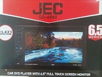 HEADUNIT TV MOBIL DOUBLE DIN JEC GD-6980