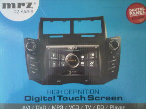 tv mobil double din MRZ oem for Toyota Yaris