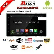 HEAD UNIT TV MOBIL MTECH MM-8803 ANDROID LAYAR 10 INCH