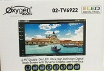 HEADUNIT TV MOBIL DOUBLE DIN OXYGEN O2-TV6922