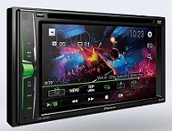 TAPE HEAD UNIT TV MOBIL DOUBLE DIN PIONEER AVH-A105DVD
