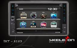 HEADUNIT TV MOBIL DOUBLE DIN SKELETON SKT-8183