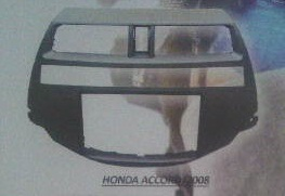 frame headunit tv mobil doubledin honda accord