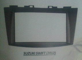 frame headunit tv mobil doubledin suzuki new swift