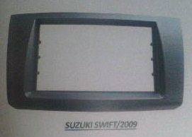 frame headunit tv mobil doubledin suzuki Swift