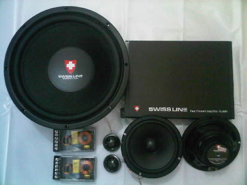 PAKET AUDIO MOBIL SQ SWISS LINE by CUBIG