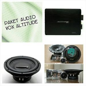 PAKET AUDIO MOBIL SQ VOX ALTITUDE SERIES by VOX RESEARCH