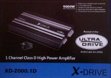 power monoblok X-Drive XD-2000.1D