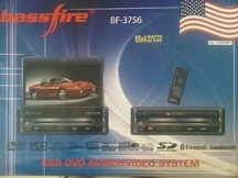 headunit tv mobil single 1 din BassFire