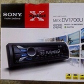 single dvd player sony mex-dv1700u