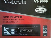 single dvd player merk v-tech vt-9009