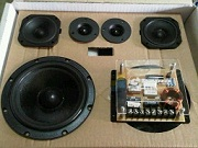 speaker split 3 way BAMA design by Peerless