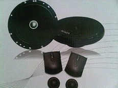 Speaker split 2 way Mettalic Chrono MT-62
