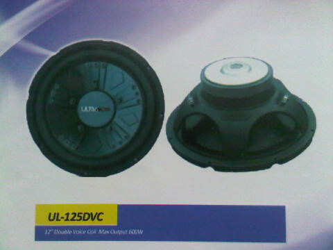SUBWOOFER ULTRALINEAR UL-125DVC
