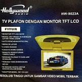 TV PLAFON ROOF HOLLYWOOD HW-9023A UKURAN 9 INCH
