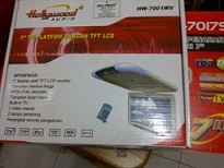 tv mobil plafon/roof hollywood 7""