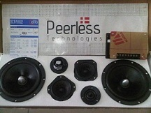 SPEAKER SPLIT/COMPONENT 3 WAY PEERLESS XT7